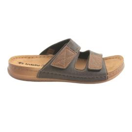 Mænds sko Inblu TH015 brun