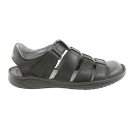 Herre sports sandaler Riko 619 sort