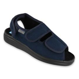 Navy Befado kvinders sko pu 676D003