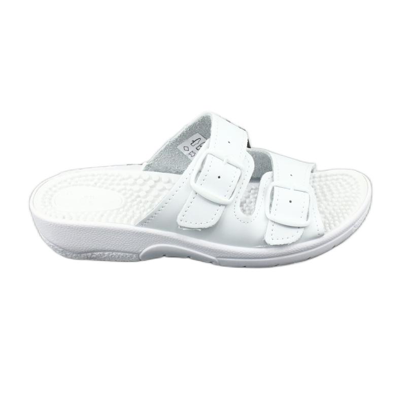 Flip flops hvid sundhed Comfooty Nadia