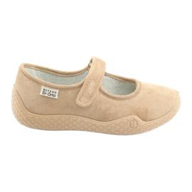 Brun Befado kvinders sko pu - ung 197D004