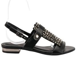 Kylie Sorte kvinders sandaler
