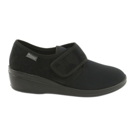 Sort Befado kvinders sko pu 033D002