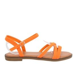 Appelsin Kvinders sandaler orange WL255 Orange