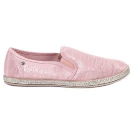 Balada pink Skinnende Sneakers Slip On