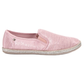 Balada Skinnende Sneakers Slip On pink