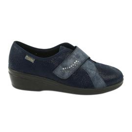 Blå Befado kvinders sko pu 032D001