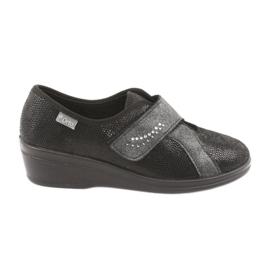 Sort Befado kvinders sko pu 032D002