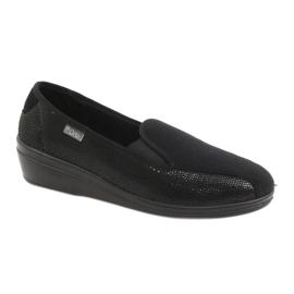 Sort Befado kvinders sko pu 034D002