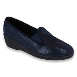 Navy Befado kvinders sko pu 035D001