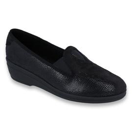 Sort Befado kvinders sko pu 035D002