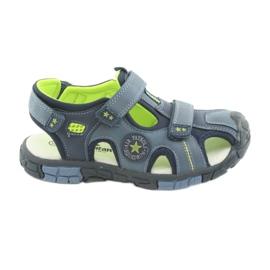 American Club Børns sandaler med amerikansk læderindsats fra DR02