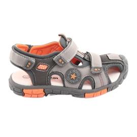American Club Sandalka sko med en amerikansk læderindsats fra DR02