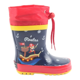 American Club Amerikanske børns regnstøvler. Pirat