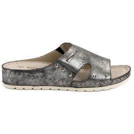 Goodin grå Komfortabelt Tøfler