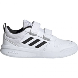Hvid Adidas Tensaur C EF1093 sko