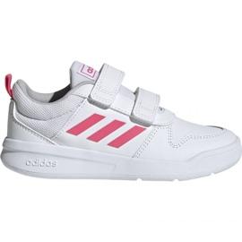 Hvid Adidas Tensaur C EF1097 sko