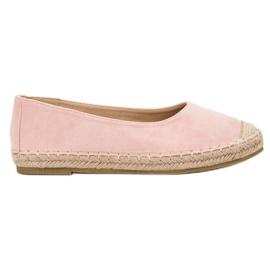Marquiz pink Suede Ballerinas