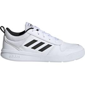 Hvid Adidas Tensaur K Jr. EF1085 sko