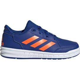 Blå Adidas AltaSport K Jr G27095 sko