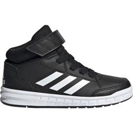 Sort Adidas AltaSport Mid K Jr G27113 sko