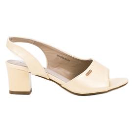 Goodin Elegante Slip-on Sandaler gul