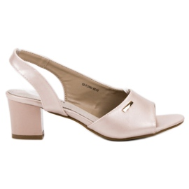 Goodin brun Elegante Slip-on Sandaler