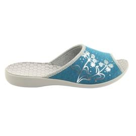 Blå Befado kvinders sko pu 254D102