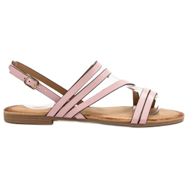 Primavera Klassiske Pink Sandaler