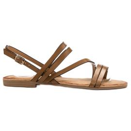 Primavera Klassiske brune sandaler