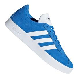 Blå Adidas Vl Court 2.0 Jr F36376 sko