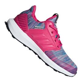 Pink Adidas RapidaRun Btw Jr AH2603 sko
