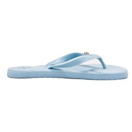 Ax Boxing blå Flip-flops på stranden