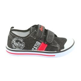 Velcro sneakers American Club sorte jeans