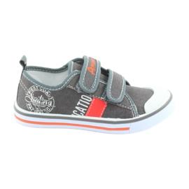 Velcro sneakers American Club grå jeans