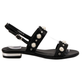 Kylie Komfortable sorte sandaler
