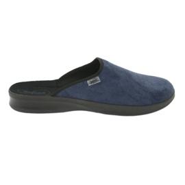 Blå Befado mænds sko pu 548M018