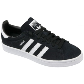 Adidas Originals Campus Jr BY9580 sko sort