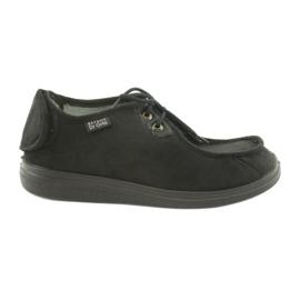Sort Befado mænds sko pu 732M004