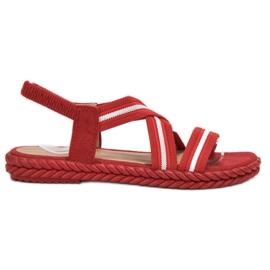 Seastar rød Komfortable kvinders sandaler