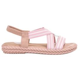 Seastar pink Komfortable kvinders sandaler