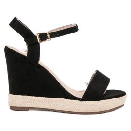 Seastar sort Espadrilles Black Sandals