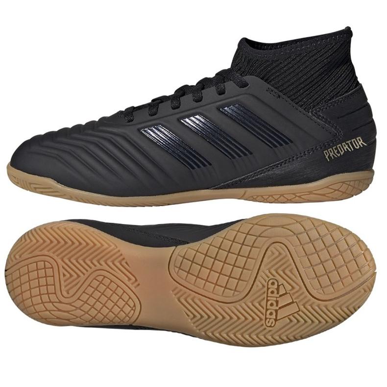 Indendørs sko adidas Predator 19.3 I Jr G25805 sort sort