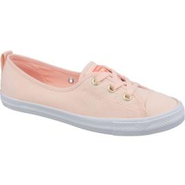 Appelsin Converse Chuck Taylor All Star Ballet Lace Slip 564313C orange sko