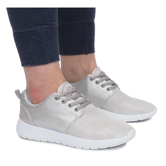 Sølv Sportssko grå