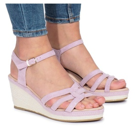 Lilla Glavel wedge sandaler