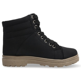 Sort Træbrædder Trappers Classic 1308 Black