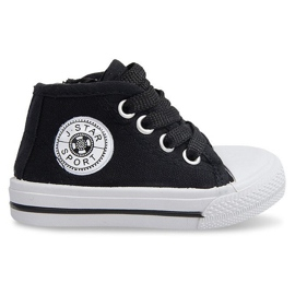Sort High Children's Sneakers Y1309 Black