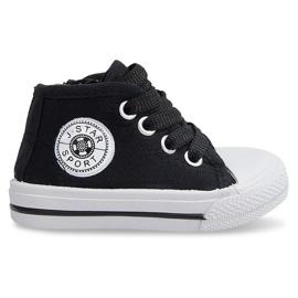 Sort High Children's Sneakers Y1309 Black