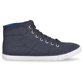 Sort High Sneakers Casual 033 Black